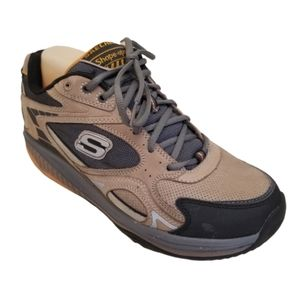 Skecher Shape Ups 52007 Brown Leather 9 Shoes